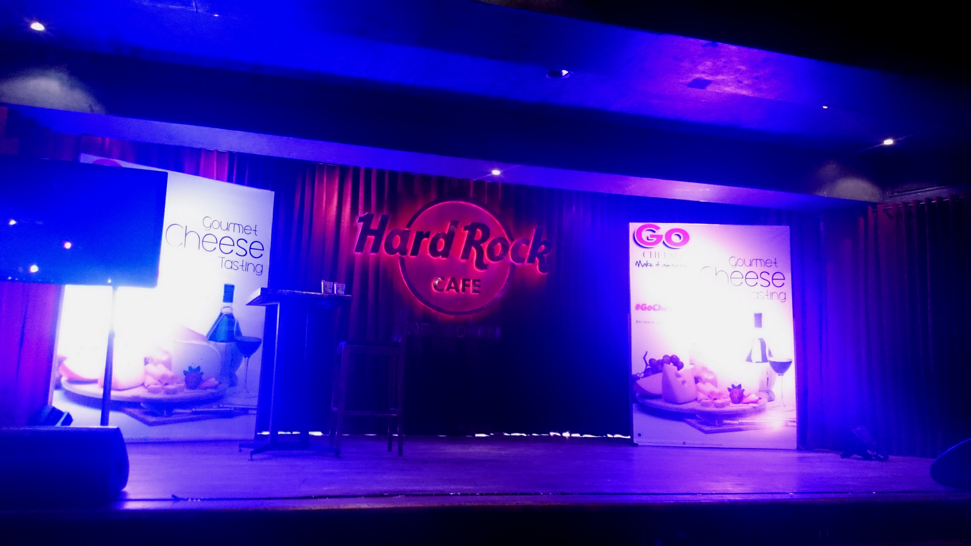 Go Cheese Tasting event, Hard Rock cafe, Delhi