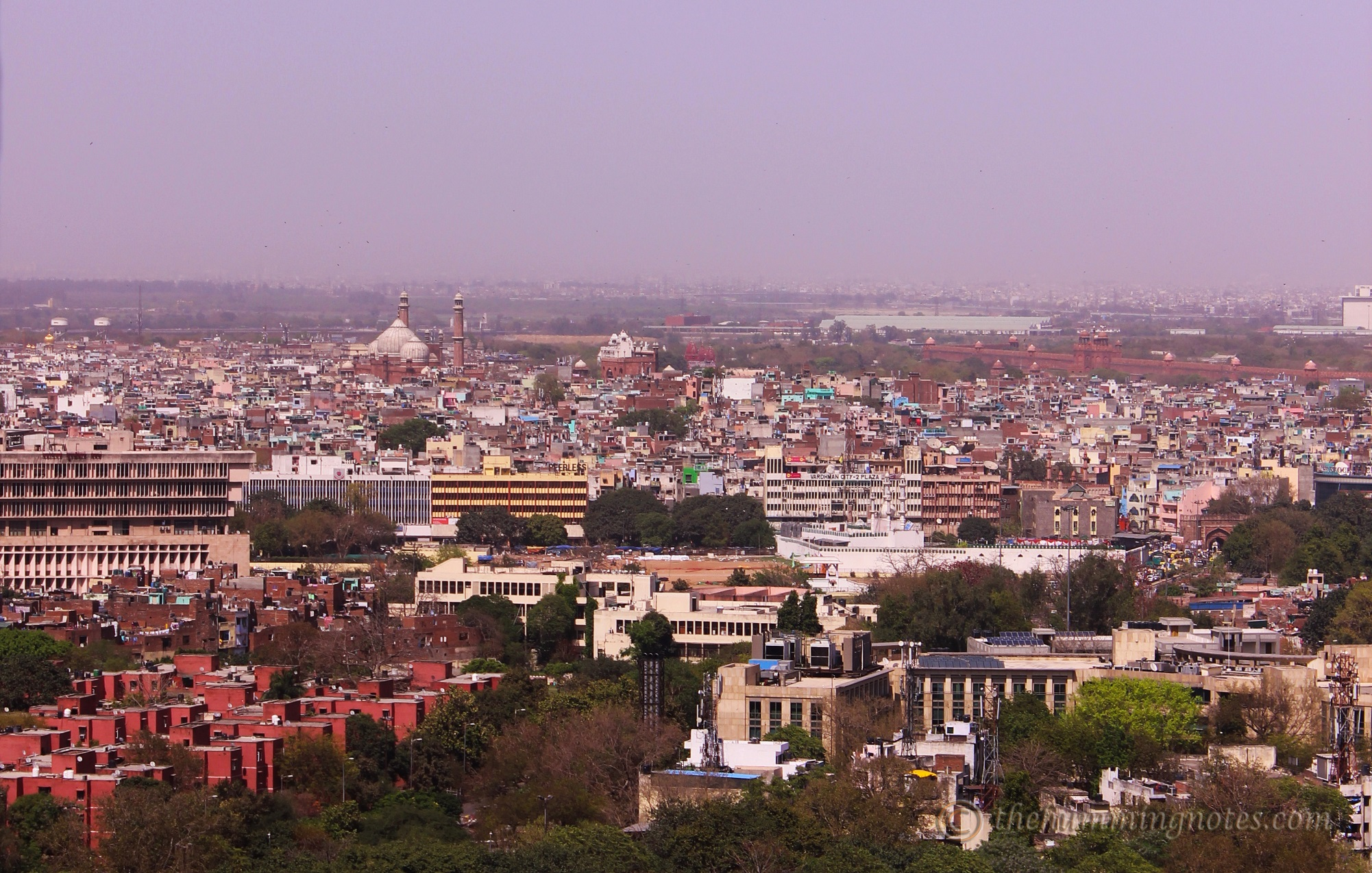 Old Delhi from The Grill Room