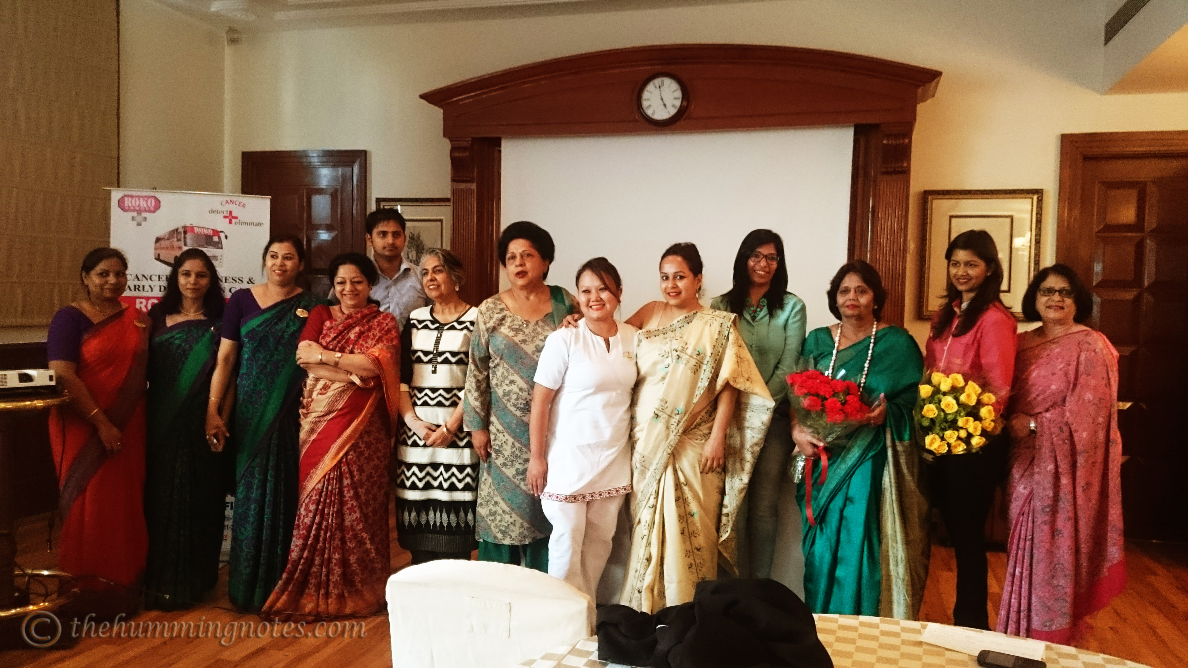 Members of The Imperial Ladies' Club and Roko Cancer Charitable Trust come together to create awareness towards women's health