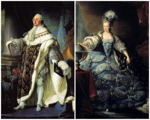 Louis XVI and Marie Antoinette; Image credit