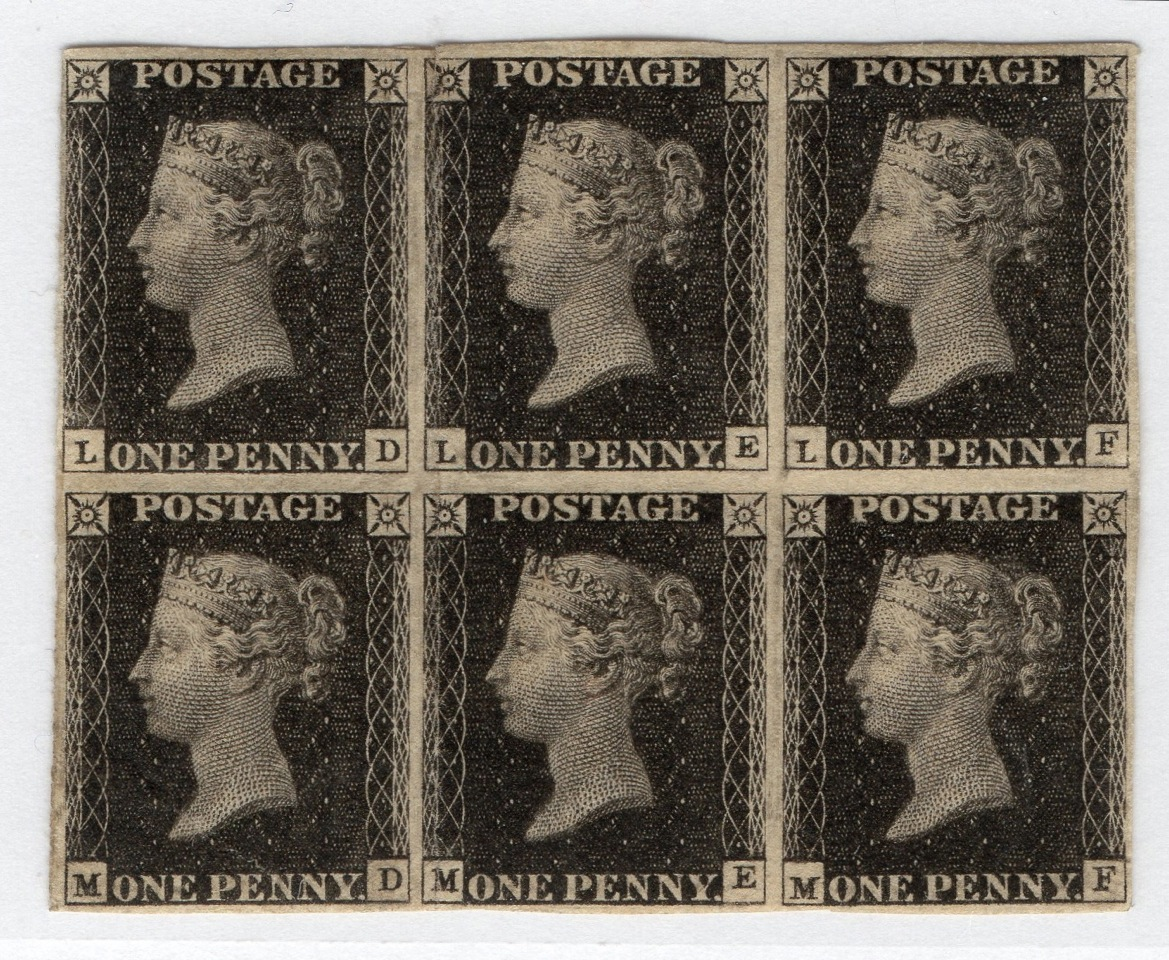 May 6 - Penny Black stamp