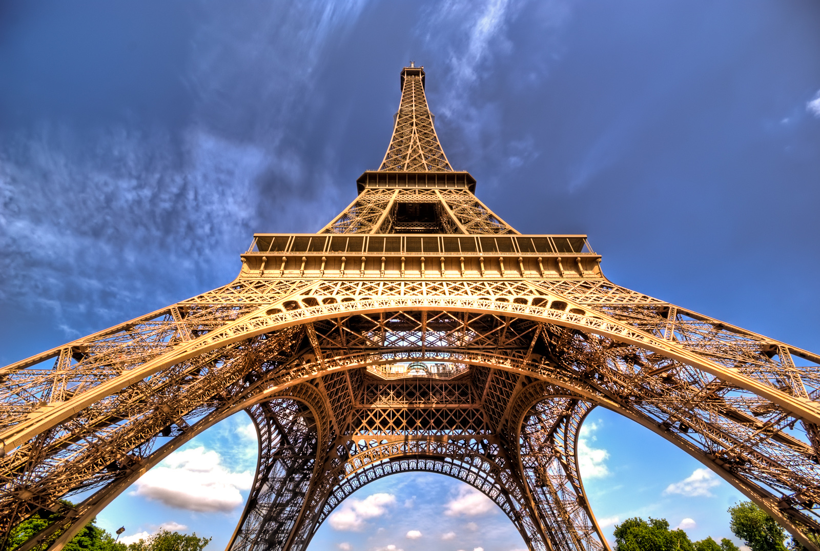 The Eiffel Tower opens doors to the public on May 6, 1889