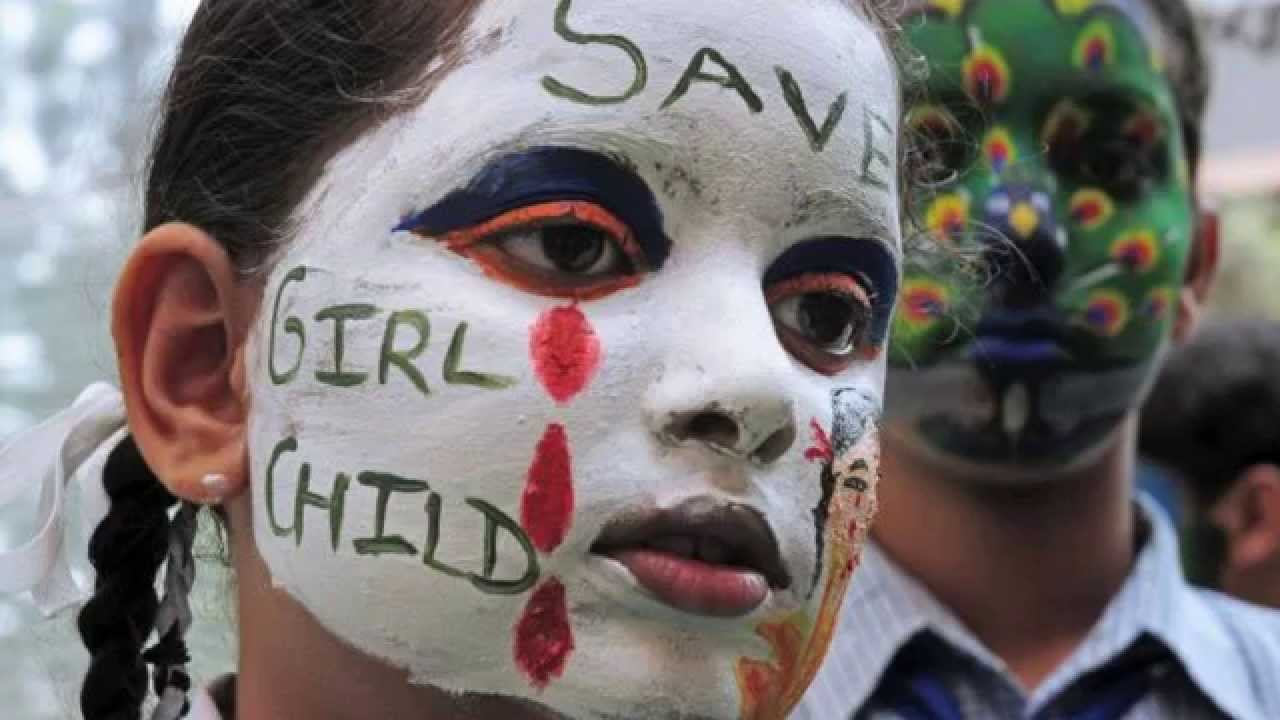 Save girl child; Image credit