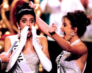 Sushmita Sen on being crowned Miss Universe; Image credit