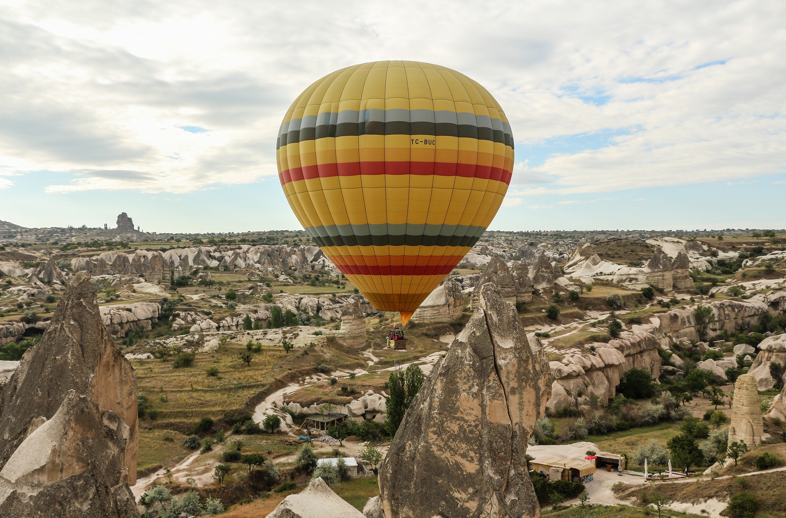 Hot air balloon in Cappadocia; Image credit