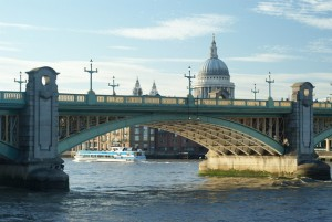 Southwark Bridge, London; Image credit