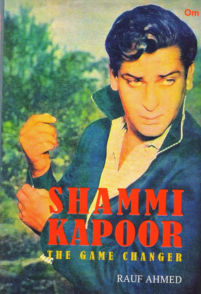 Book cover - Shammi Kapoor