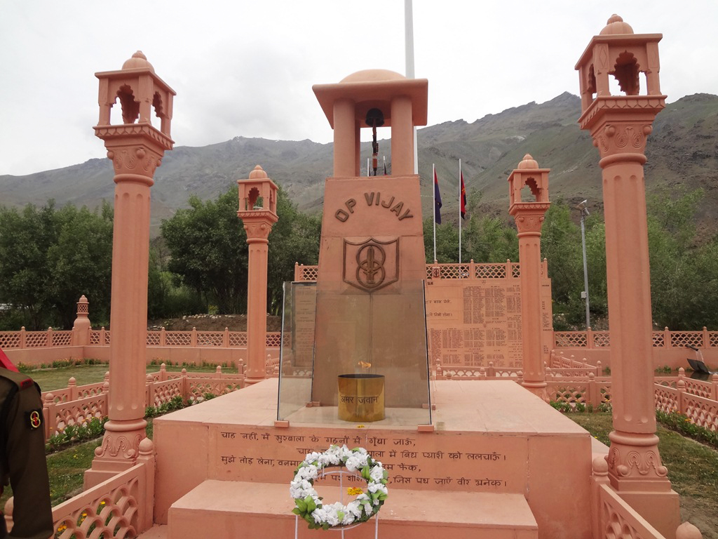 Kargil War Memorial; Image credit