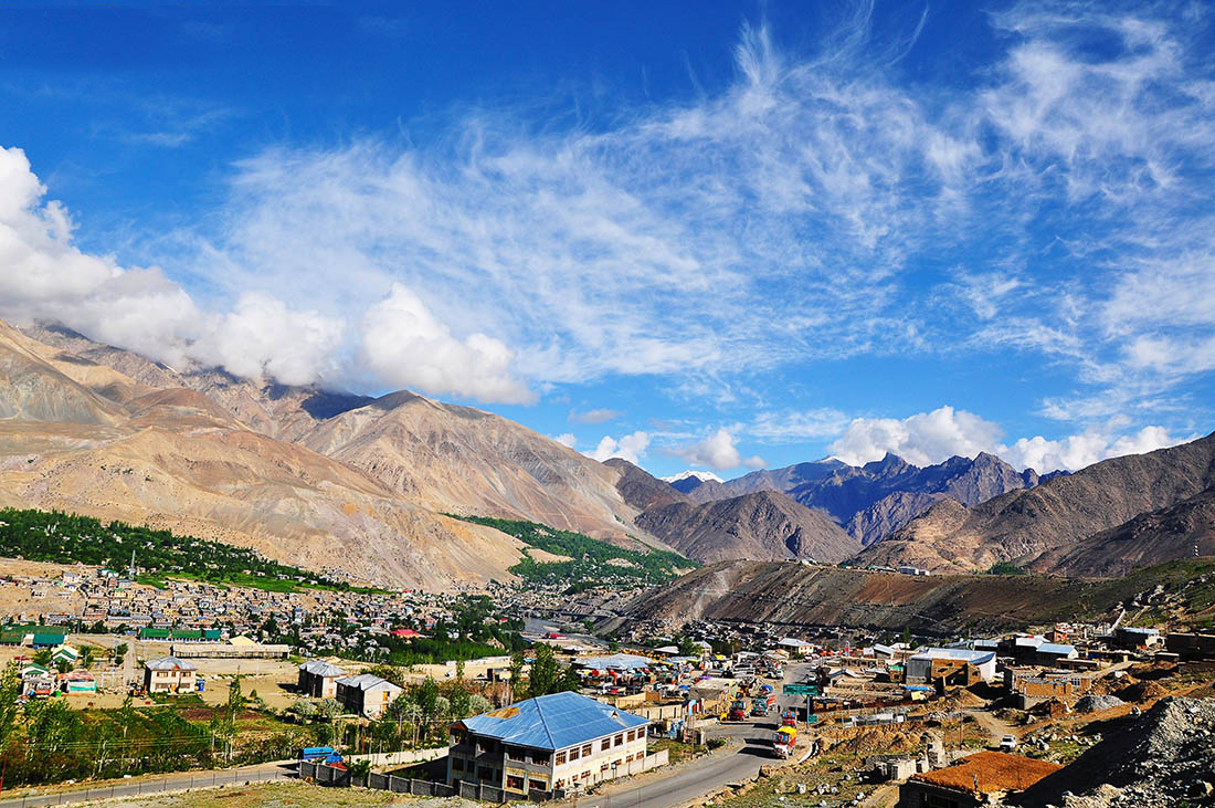 The town of Kargil in Kashmir; Image credit