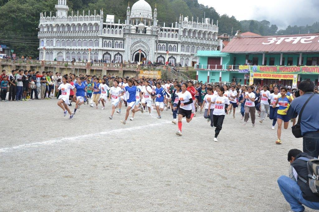 File photo of Nainital Mountain Monsoon Marathon 2015