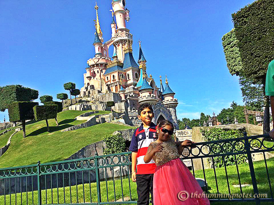 Disney diaries; Angadveer with her cousin