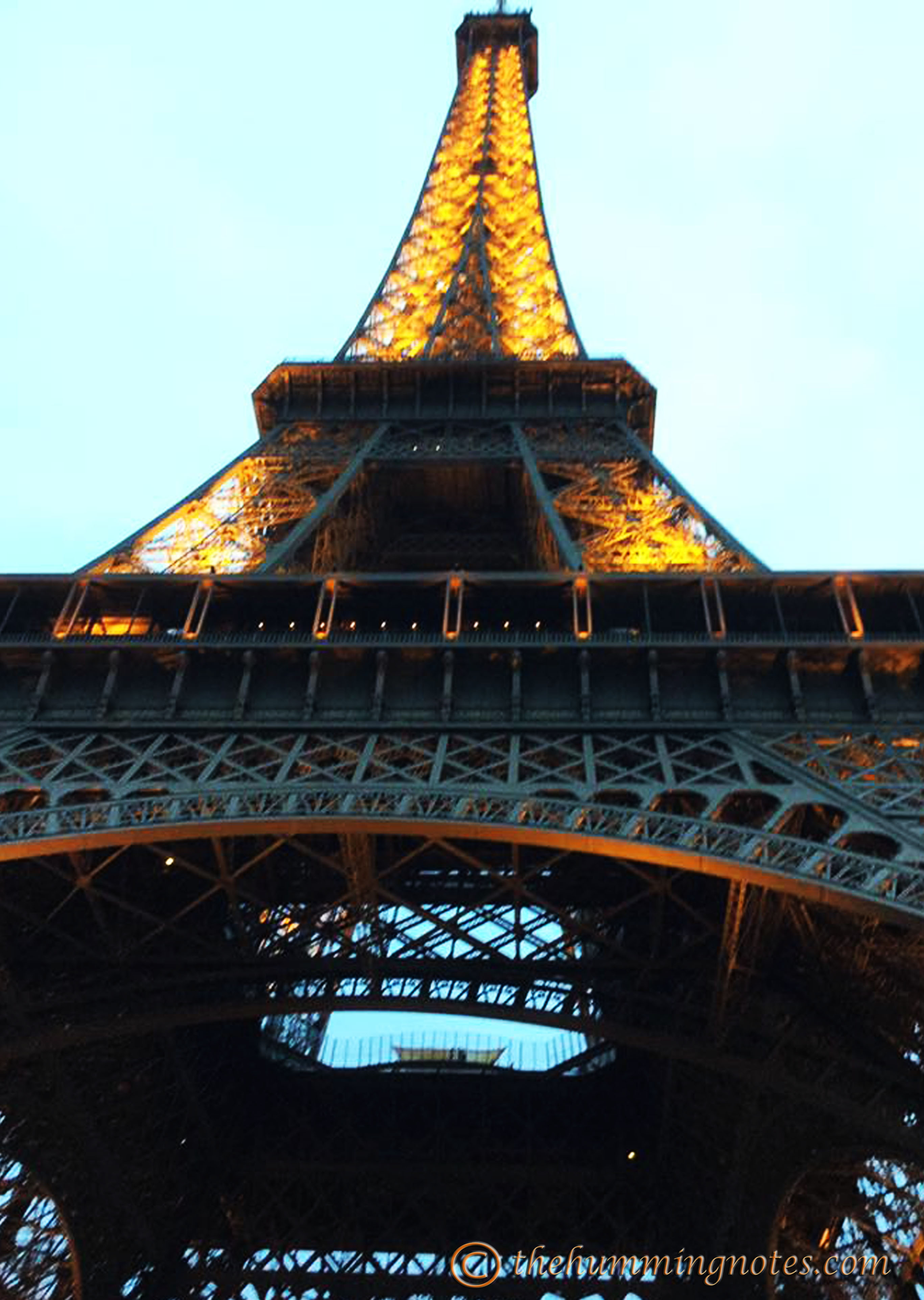 Eiffel Tower - a dream, shocking and French heritage