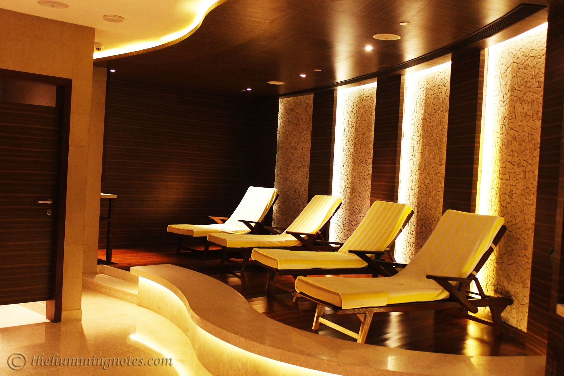 Hydrotherapy relaxation area, The Rejuve spa