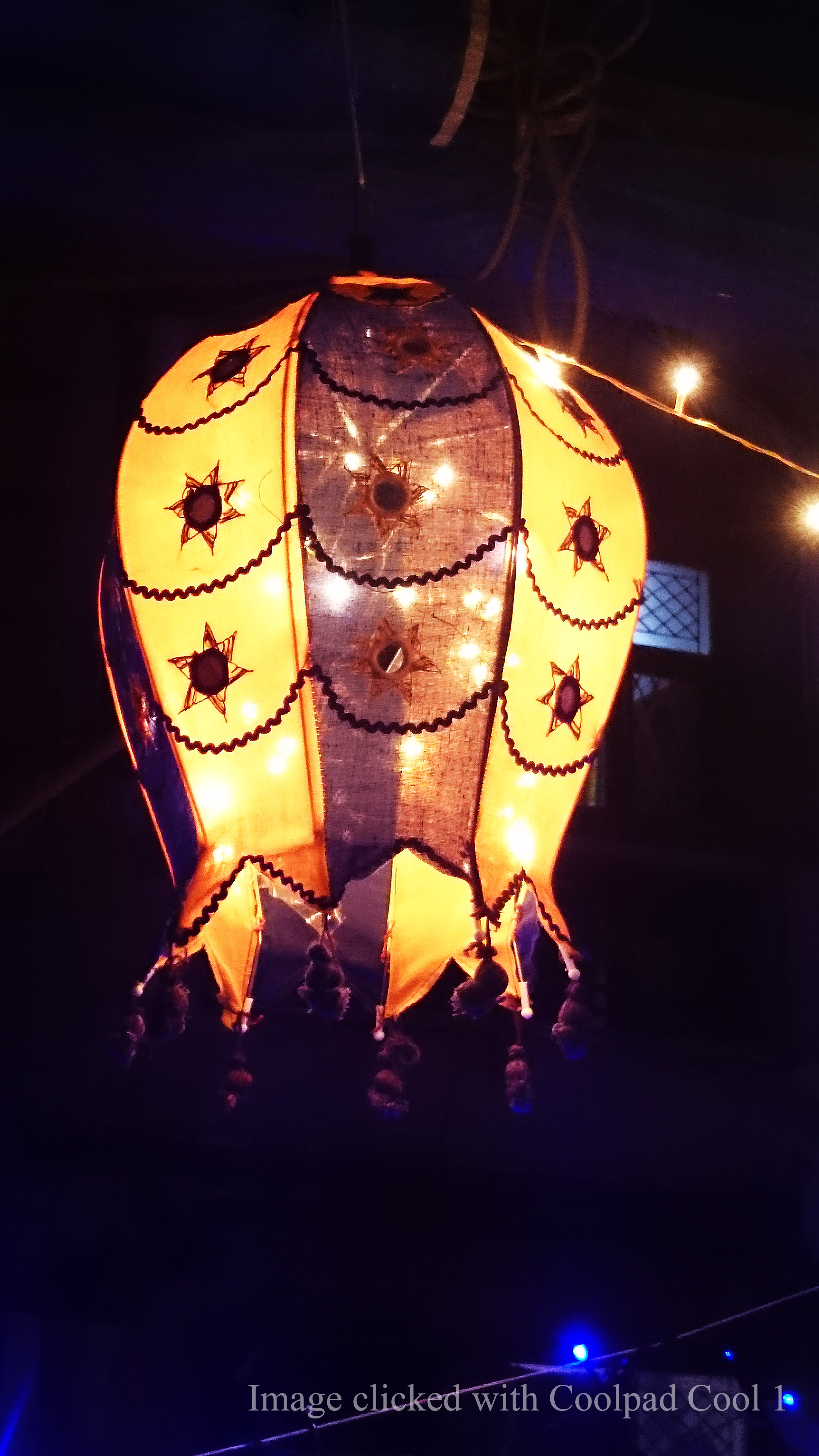 Traditional Gujarati hanging lamp_shot with Coolpad Cool1