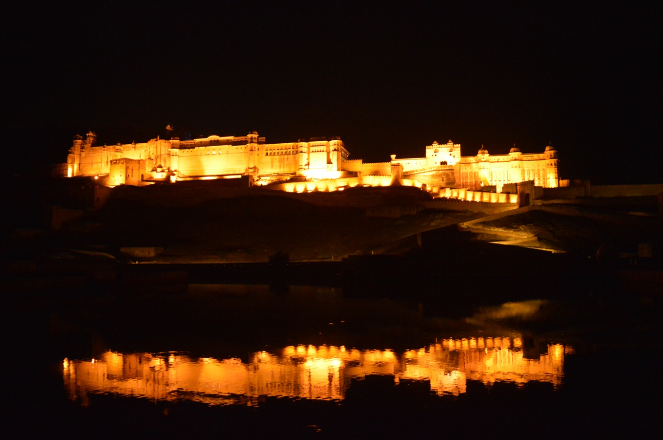 Front Facade of Amber Fort, Jaipur